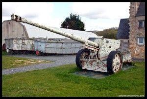 Antitanque D-Day Museum Normandía Francia