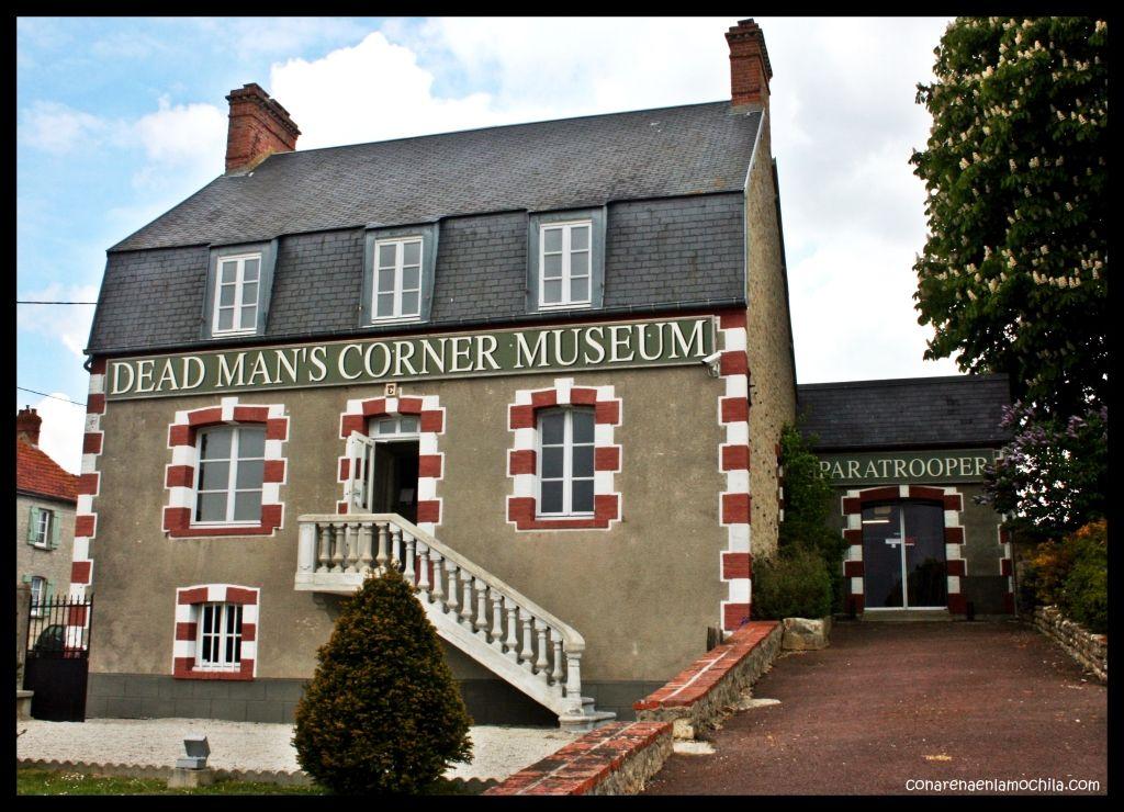 Dead Man's Corner Ste. Come du Mont Normandía Francia