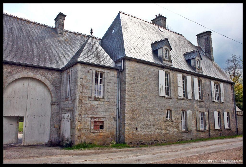 Brecourt Manor Normandía Francia