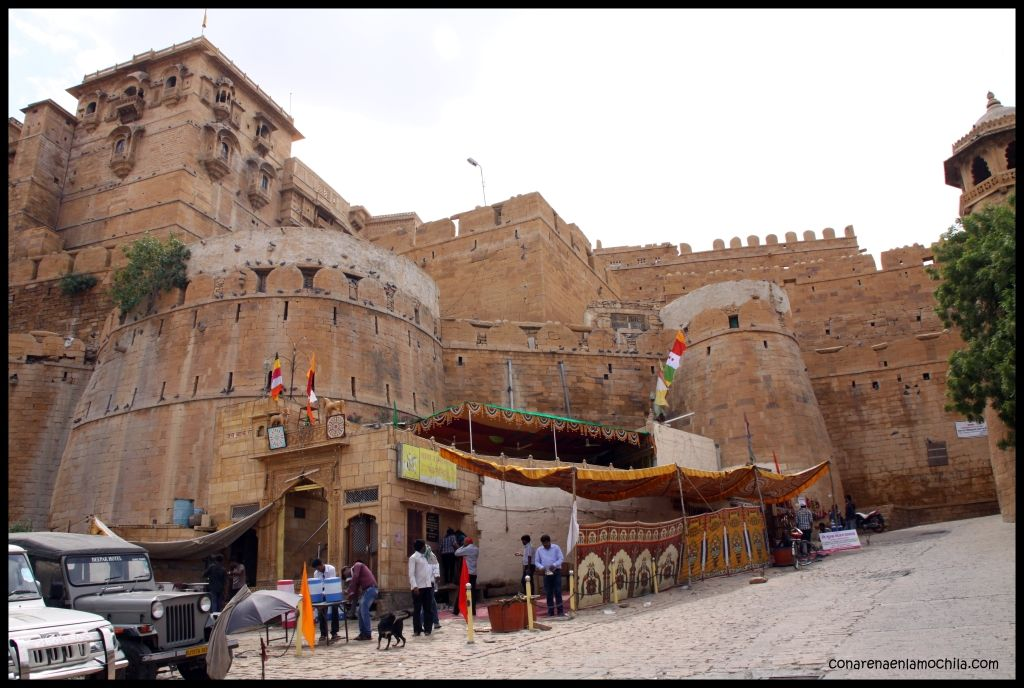 Fuerte Jaisalmer India