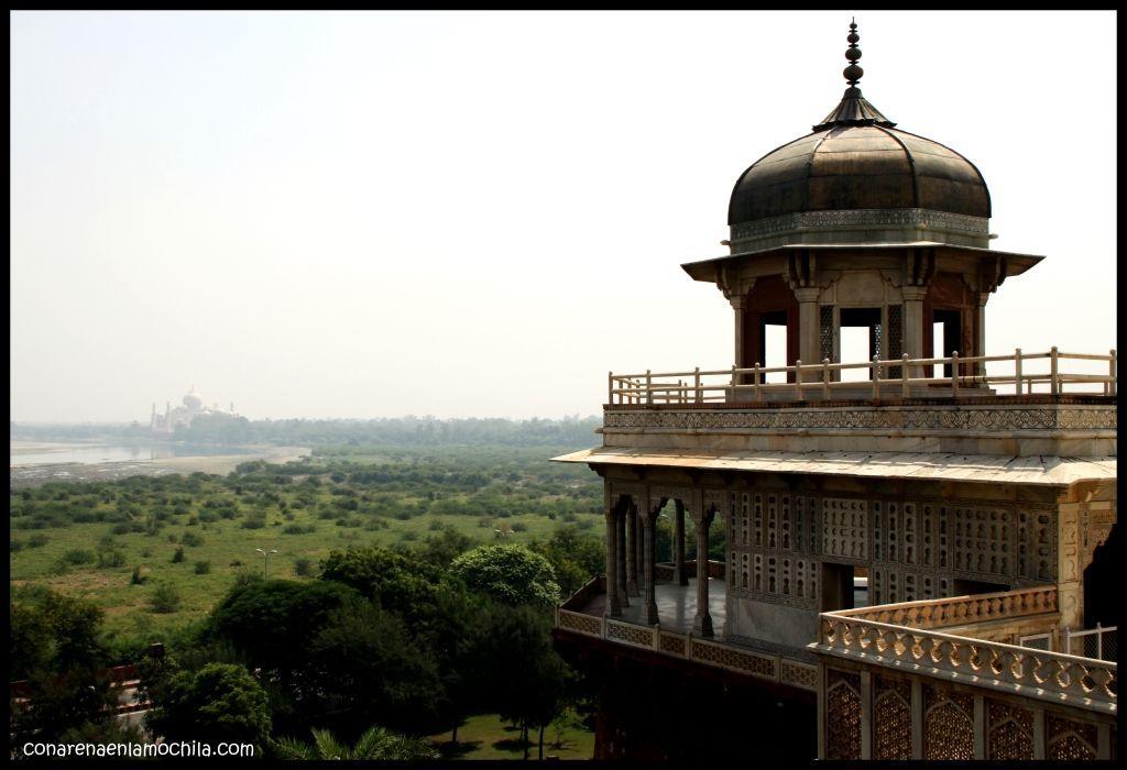 Fuerte Rojo Agra India