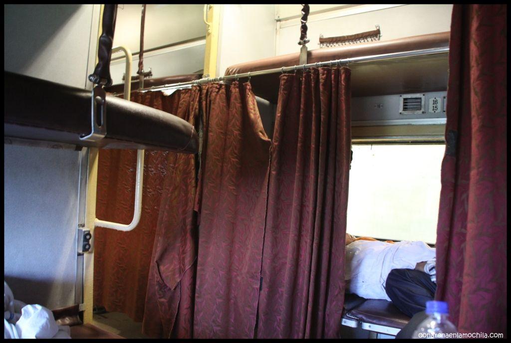 Tren Agra India