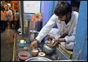 Blue Lassi Varanasi India