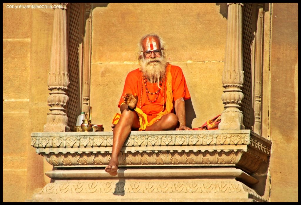 Marnikarnika Ghat Varanasi India