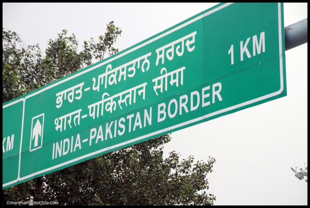 Frontera Attari Amritsar India