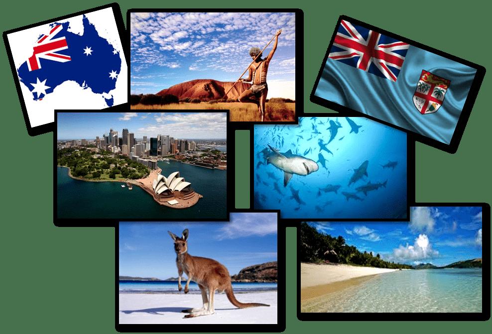 Post Ruta Australia Fiji