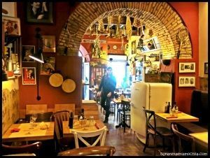 Cantina e cucina Roma Italia