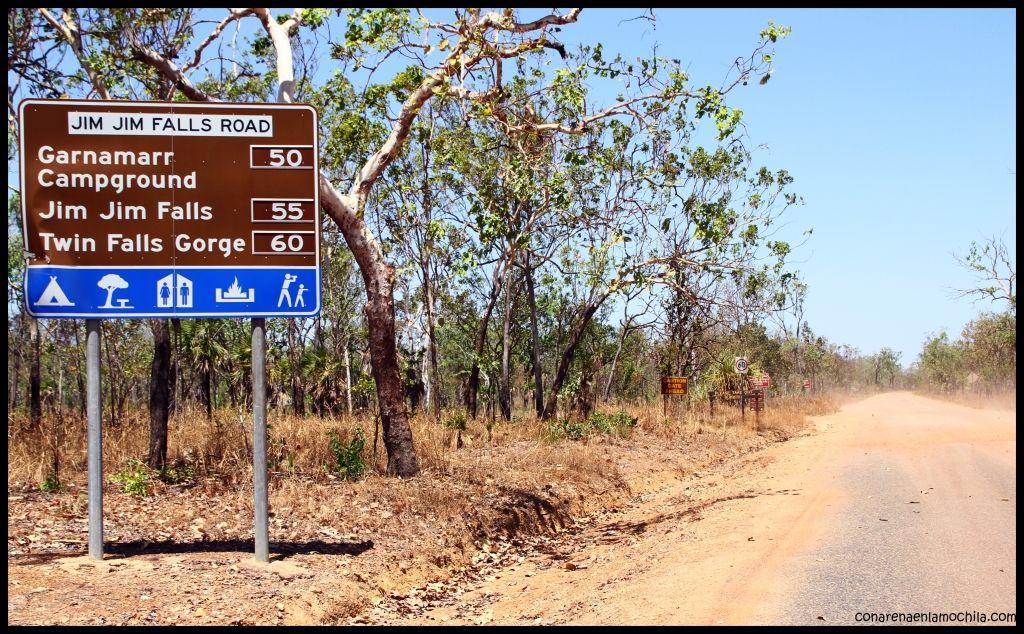 Jim Jim falls Kakadu - Australia