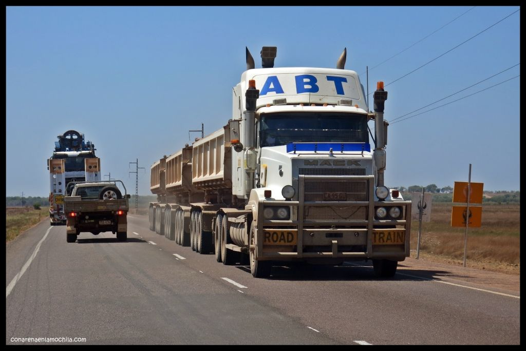 Road Train Kakadu - Australia