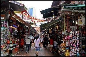 Pagoda Street Chinatown - Singapur