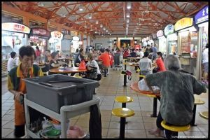 Maxwell Food Centre - Singapur