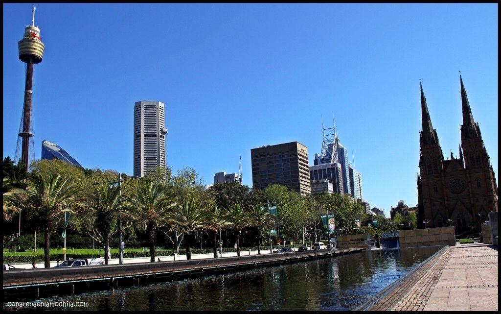 Hyde Park Sidney Australia