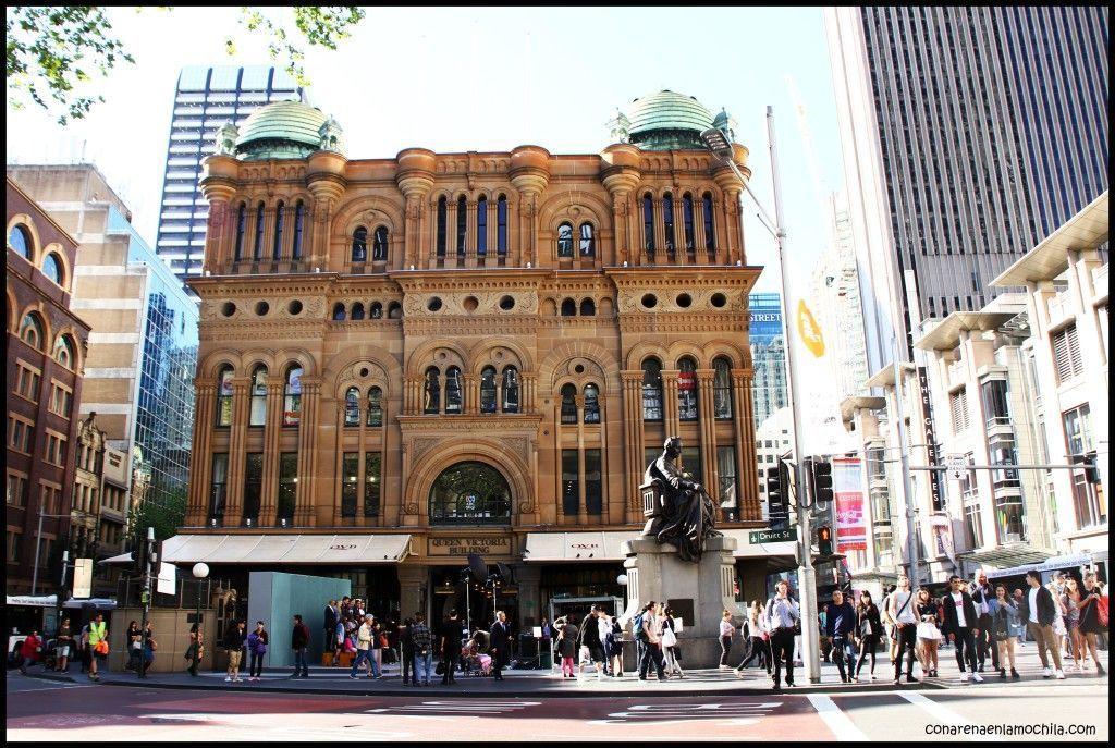 Queen Victoria Building Sídney Australia
