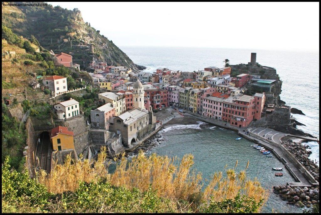 Vernazza Cinque Terre Liguria Italia