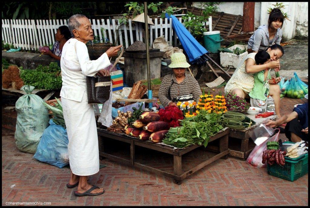 Mercado Luang Prabang Laos