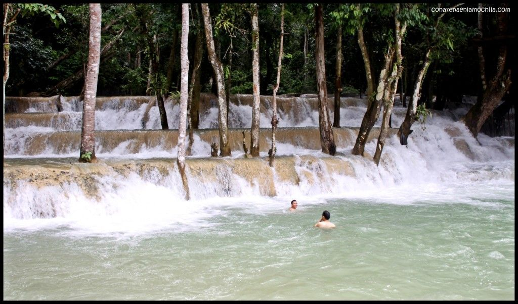 Tad Sae Luang Prabang Laos