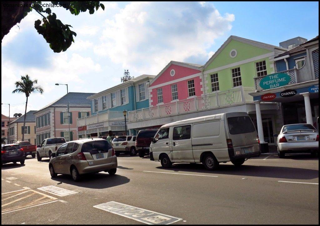 Bay St Nassau New Providence Bahamas