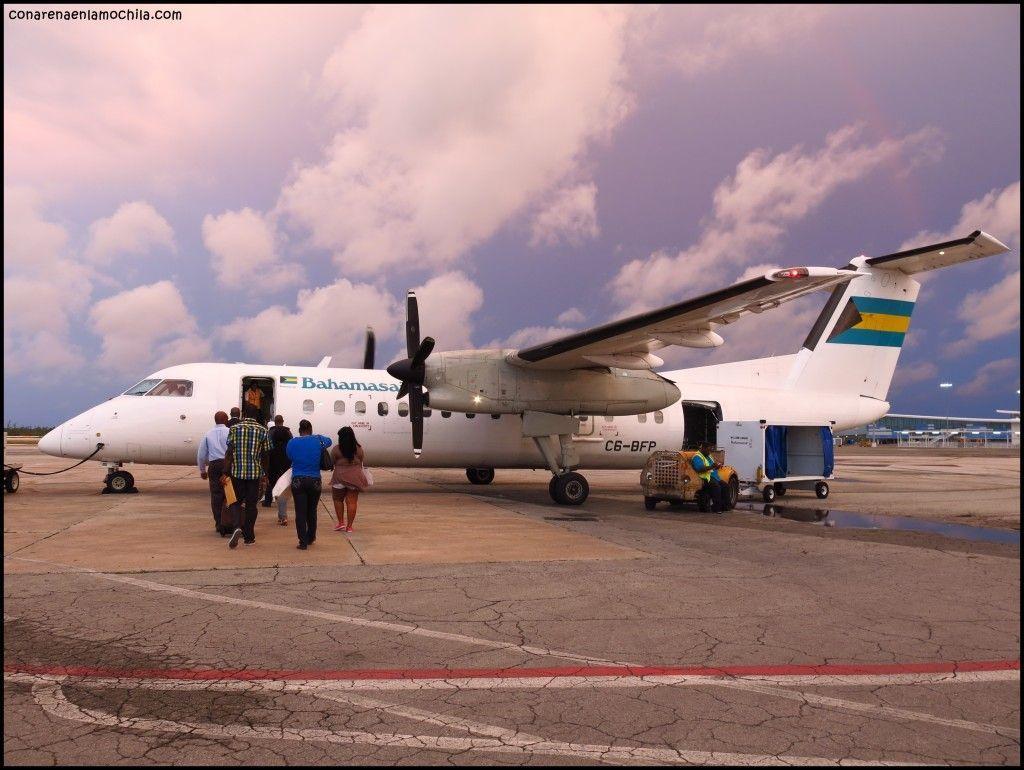Bahamas Air Nassau New Providence Bahamas
