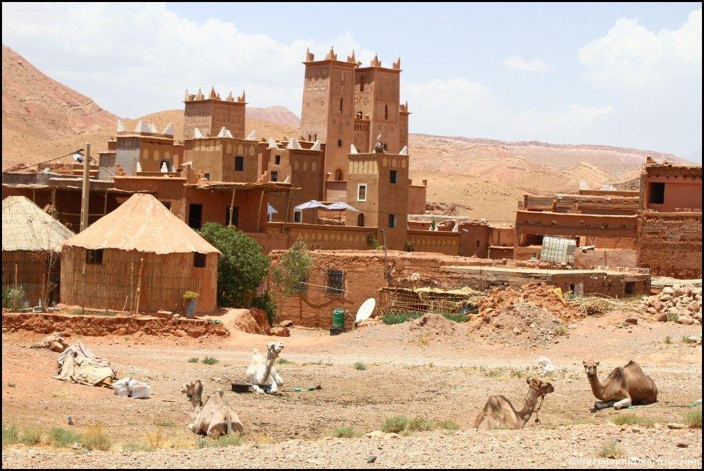 Valle de Ounila Atlas Marruecos