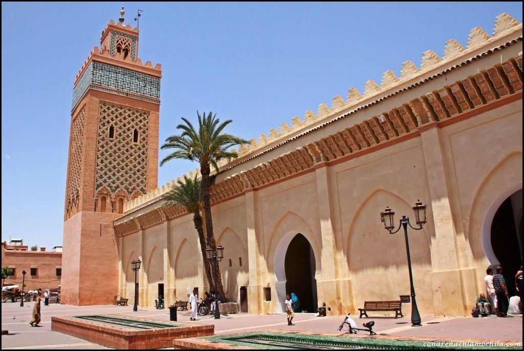 Mezquita Kasbah Marrakech Marruecos