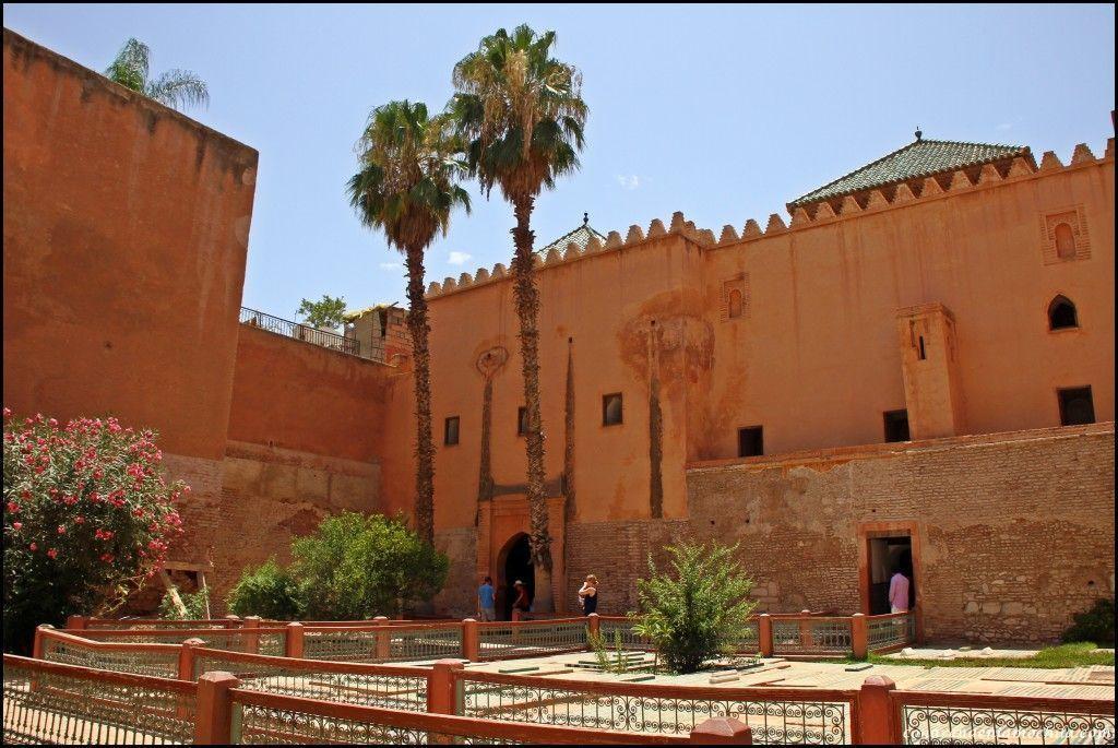 Tumbas saadíes Marrakech Marruecos
