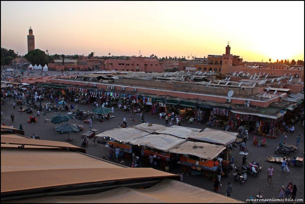 Café de France Marrakech Marruecos