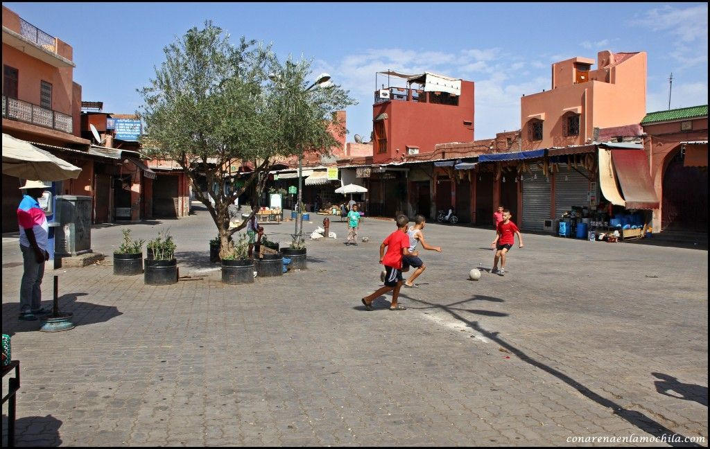 Place des Epices Marrakech Marruecos