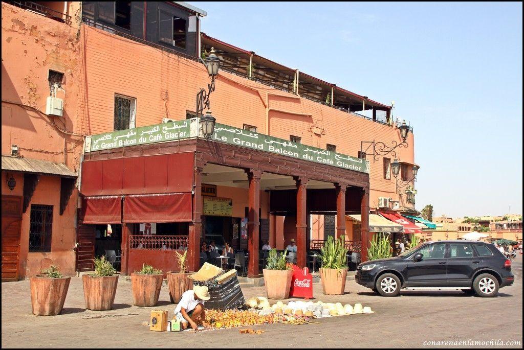 Café du Grand Balcon du Glacier Marrakech Marruecos