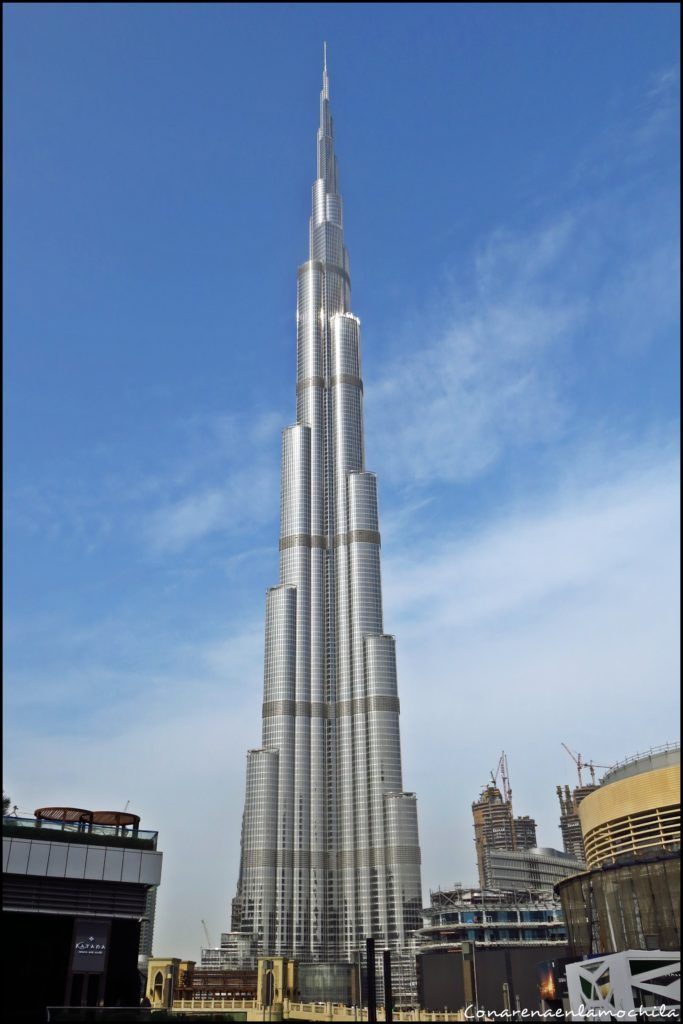 Burj Khalifa Dubai Emiratos Árabes Unidos
