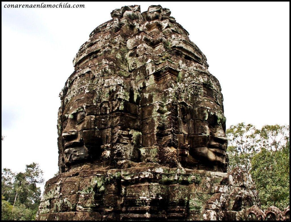 Bayón Angkor Siem Reap Camboya