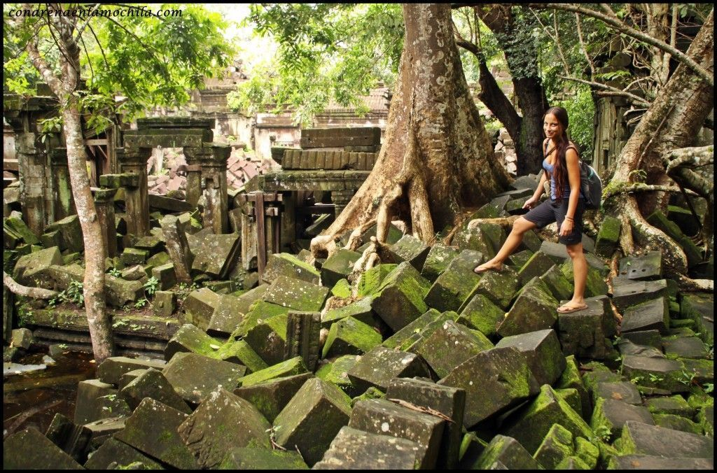 Beng Mealea Angkor Siem Reap Camboya