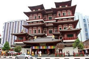 Buddha Tooth Relic Temple Chinatown SIngapur