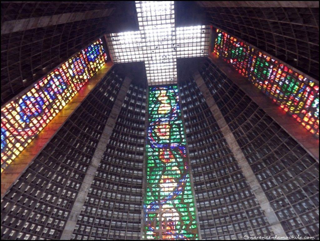 Catedral metropolitana Rio de Janeiro Brasil