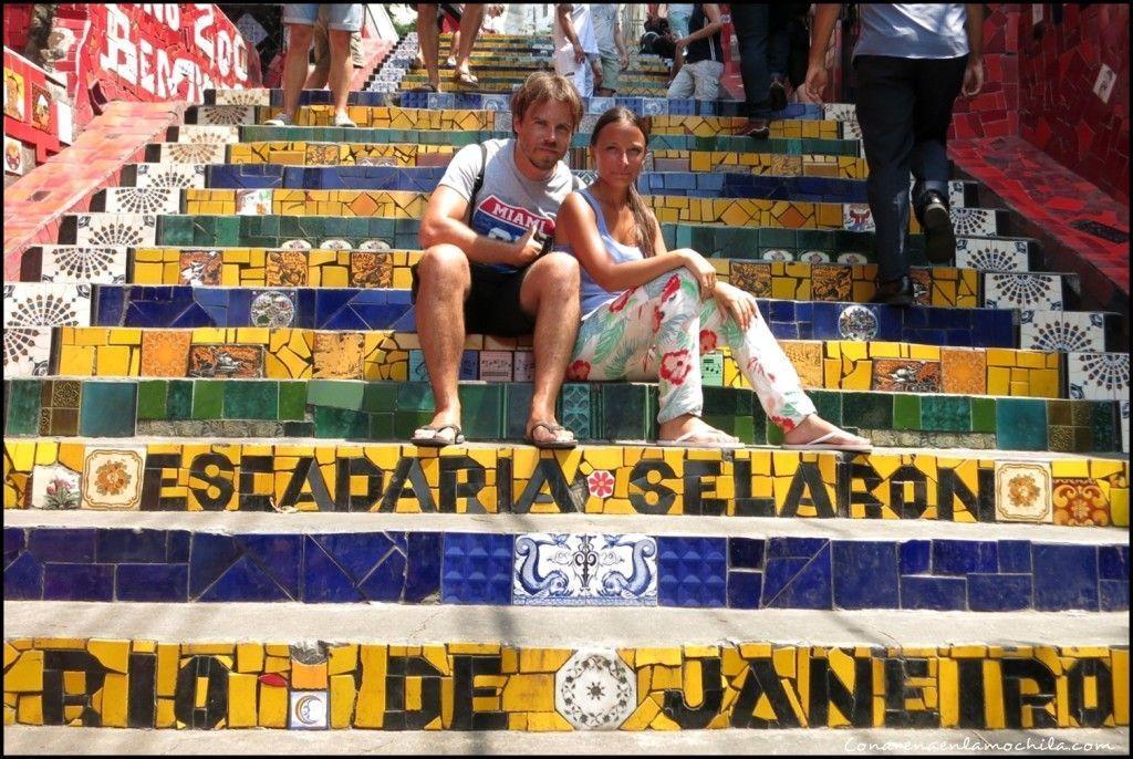 Escadaria Selarón Rio de Janeiro Brasil