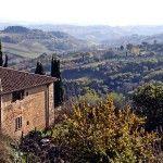 La Toscana: Buen vino y campiña