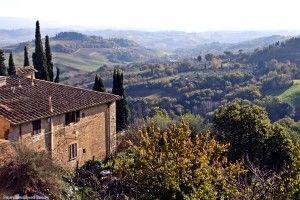 San Gimignano Toscana Italia