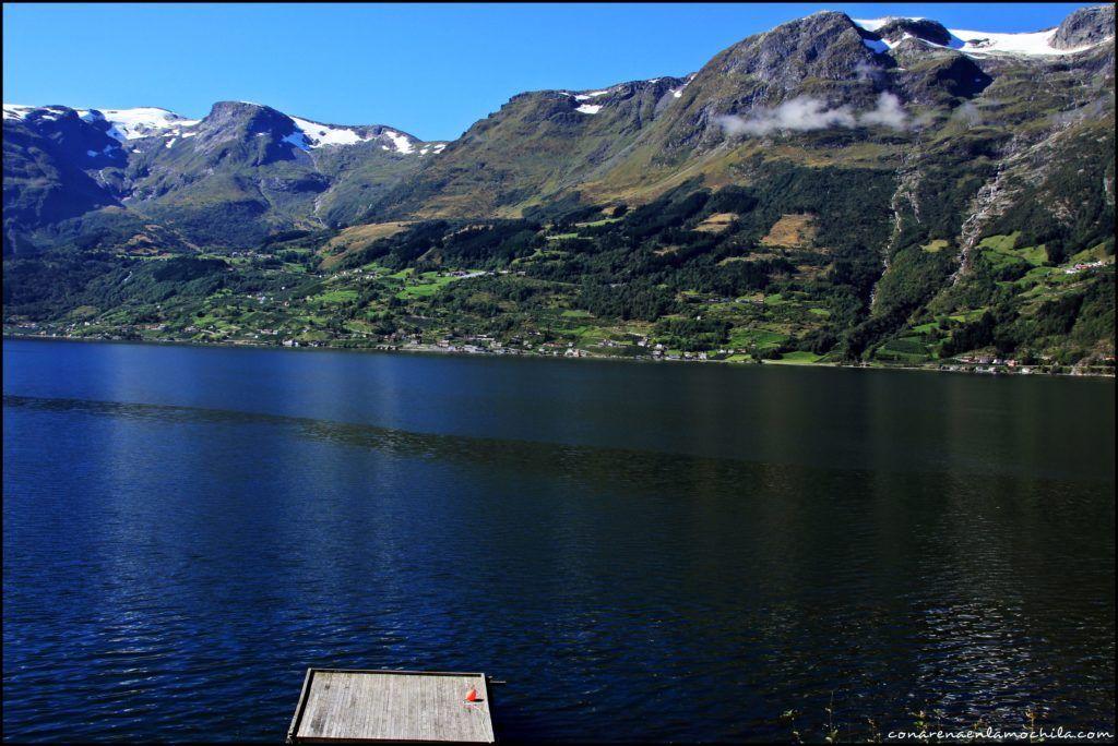 Hardangerfjord Noruega