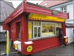 Polse Kiosk Bergen Noruega