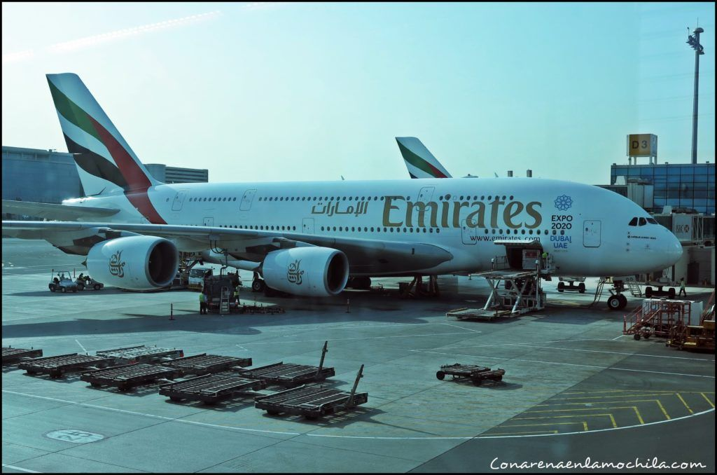 Emirates Dubai Emiratos Árabes Unidos