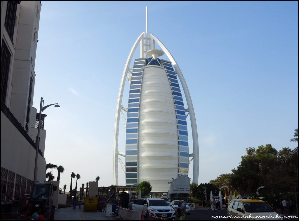 Burj Al Arab Dubai Emiratos Árabes Unidos.